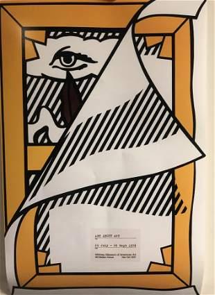 Roy Lichtenstein Art About Art