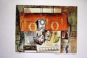 In the style of Picasso Limited Edition Still Life