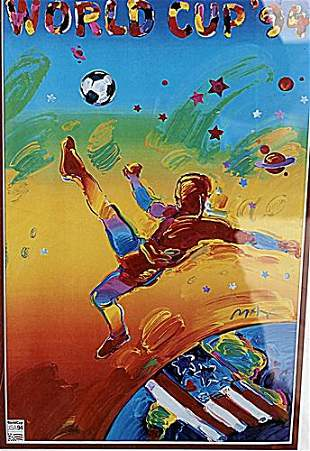 1994 World Cup Poster Peter Max