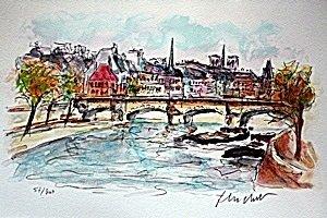 Ponte Neuf by Urbain Hutchet