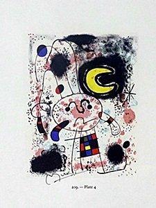 "Print ""plate"" By Joan Miro"