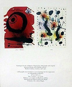 "Print ""cover (504)"" By Joan Miro"
