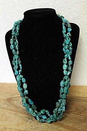 Turquoise Nevada Blue Necklace