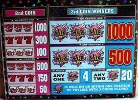 "Vintage Collectible Casino Slot Machine Glass ""wild"