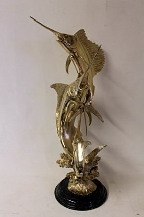 Beautiful Gold 2 Sword Fish