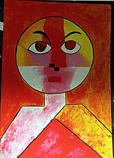 Paul Klee - Man Head