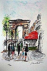 Arc de Triomphe by Urbain Hutchet