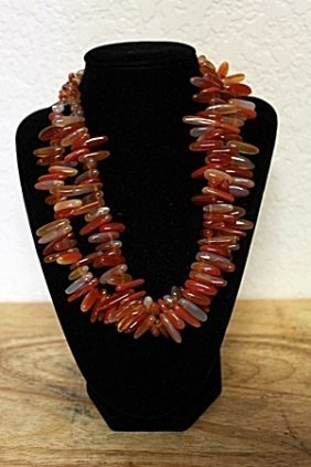 Fancy Coral Necklace
