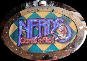 "Vintage ""nerds Gone Wild"" Casino Slots Topper. (n)"