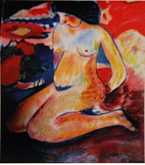 Ernst Ludwig Kirchner - Woman Nude