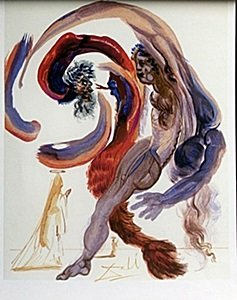 Lithograph After  Salvador Dali