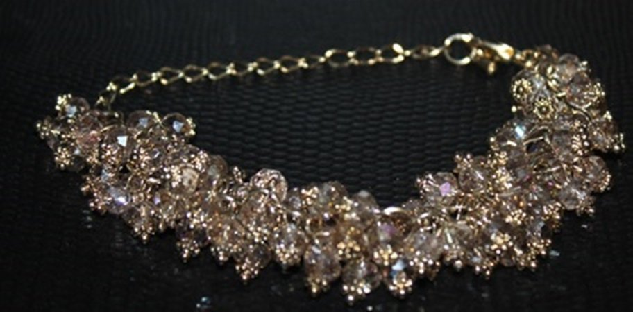 Very Fancy Crystal Bracelet.
