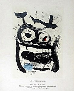"Print ""The Empress"" by Joan Miro"