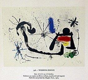 "Print ""wedding Dance"" By Joan Miro"