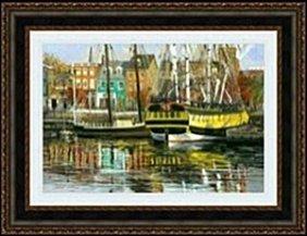 Annapolis Harbor By Robert Lui