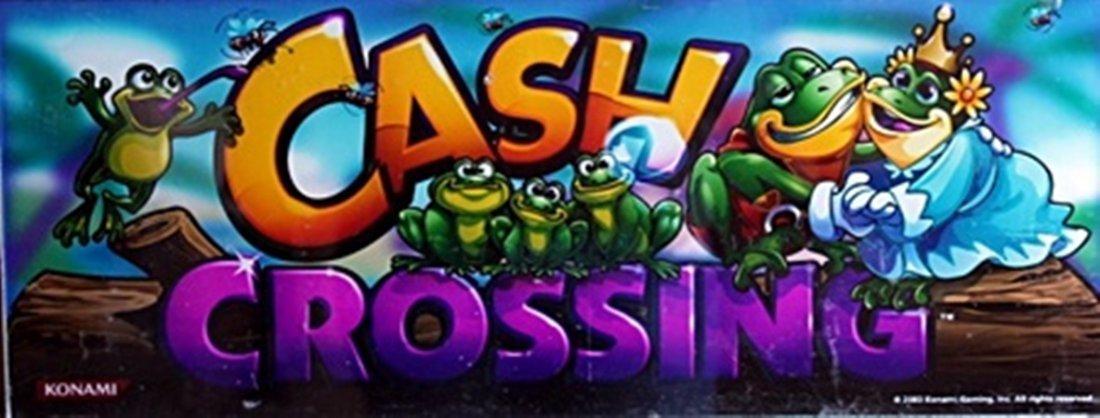"Vintage Collectible Casino Slot Machine Glass ""Cash"