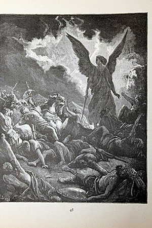 """The Dore Bible Gallery """"The Destruction of"""