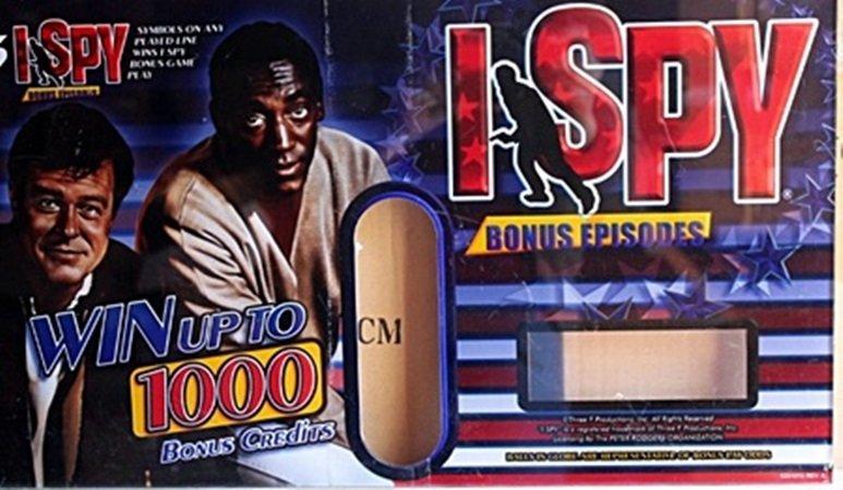 "Vintage Collectible Casino Slot Machine Plexiglass ""I"