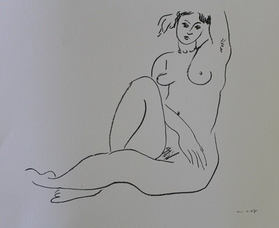 Lithograph after Henry Matisse