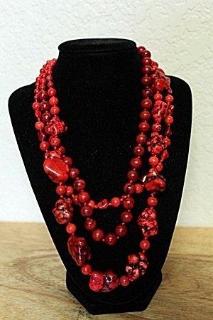 Rose Garnets Necklace