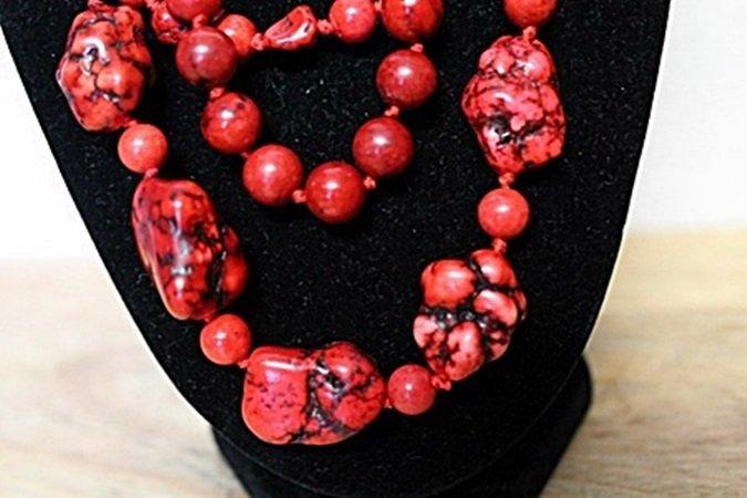Rose Garnets Necklace - 2