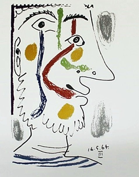 """""""16564"""" by Pablo Picasso"""
