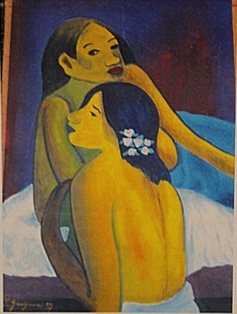 Paul Gauguin - Two Womans