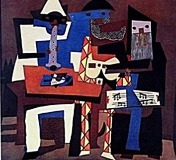 """""""Three Musicians"""" by Pablo Picasso (CC)"""