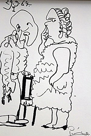 PICASSO COUPLE LITHOGRAPH