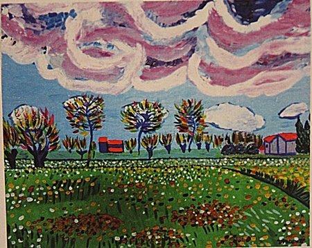 Vincent Van Gogh -View Of Arles