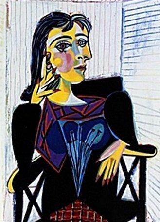 """ Portrait Of Dora Maar"" by Pablo Picasso (CC)"