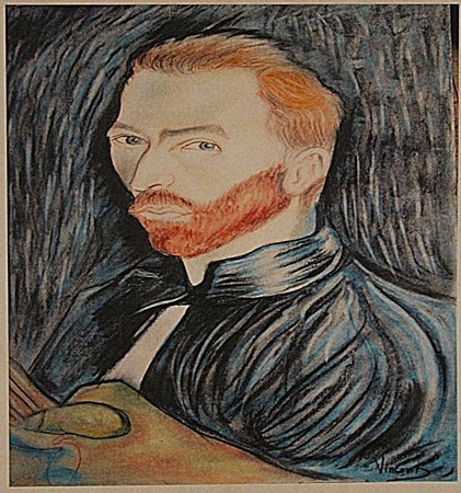 Vincent Van Gogh -Self Portrait