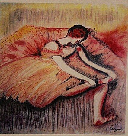 Edgar Degas - The Dancer
