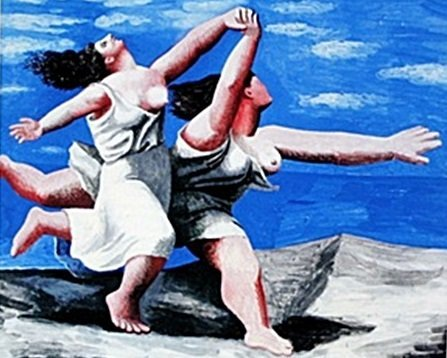 """""""Women Running On the Beach"""" by Pablo Picasso (CC)"""