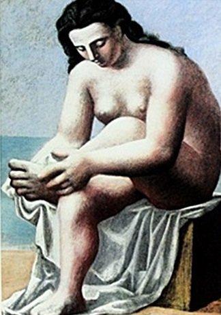 """""""Femme Nue S'Essuyant Le Pied"""" by Pablo Picasso (CC)"""