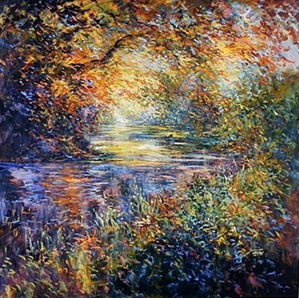 """Color Creek"" by Michael Schofield"