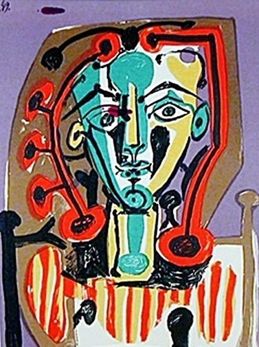 """Cover from The Book """"Picasso's Paintings, Watercolors,"""