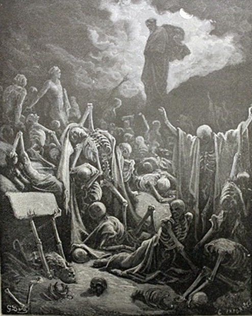 """Bible Illustraition"""" by Gustave Dore"""
