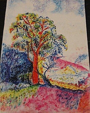 Paul Signac - Landscape Of Avignon