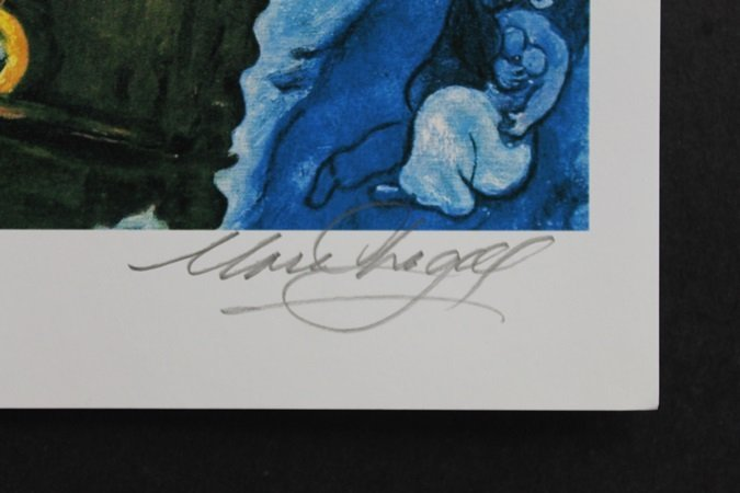 Authentic Lithograph on paper - 2