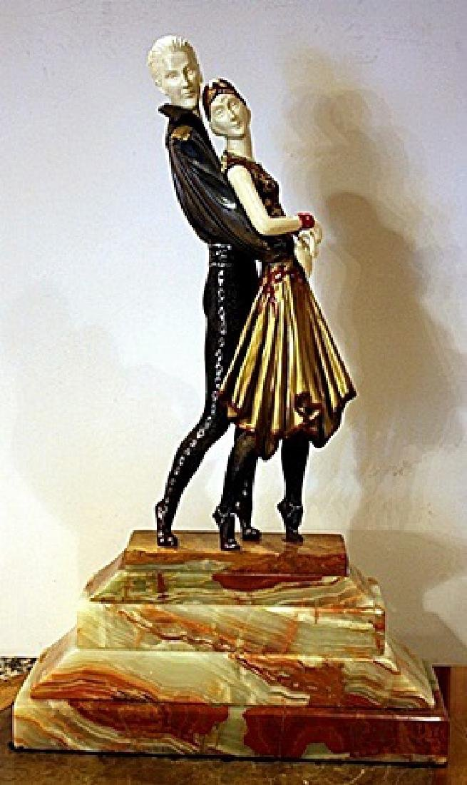 Tango - Bronze   Sculpture by Chiparus