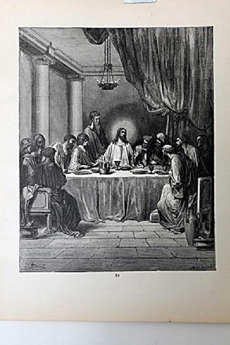 "The Dore Bible Gallery ""The Last Supper"""