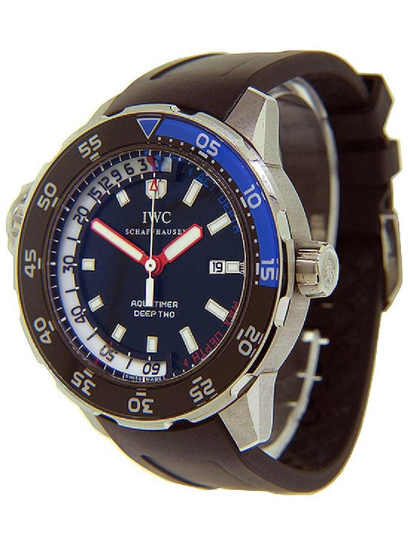 Men's IWC Aquatimer Deep Two Watch