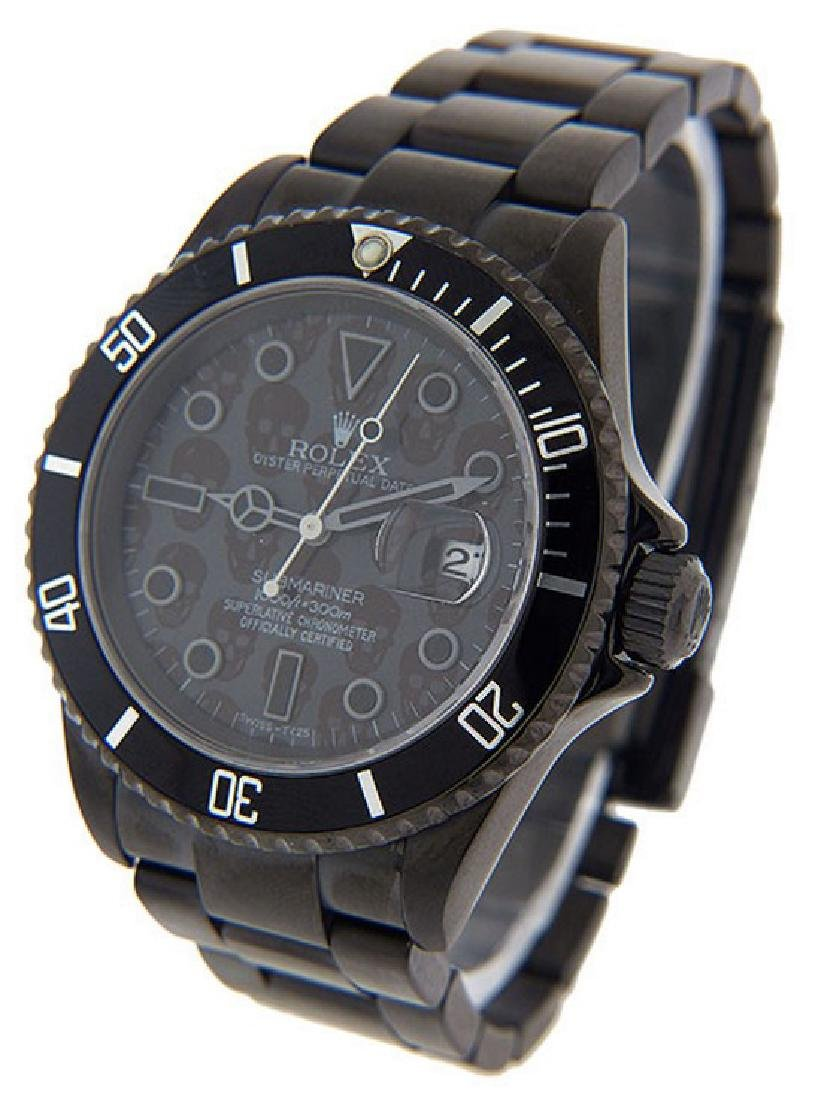Men's Custom Submariner Rolex Watch