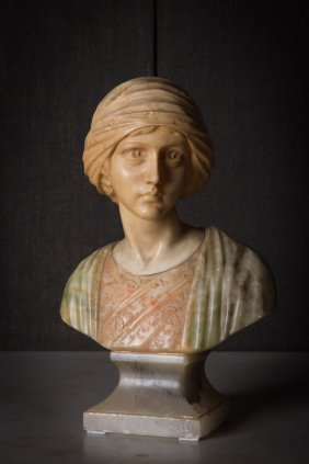 A Bust Of Young Girl
