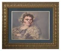 RAFAEL CORONEL (b.1931), Portrait - Lithograph ED. 9/15