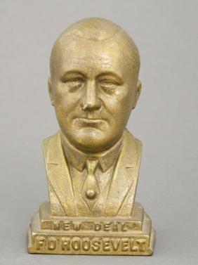 Franklin D. Roosevelt Bust