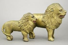 Quilted Lion & Large Lion