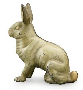 Large Seated Rabbit