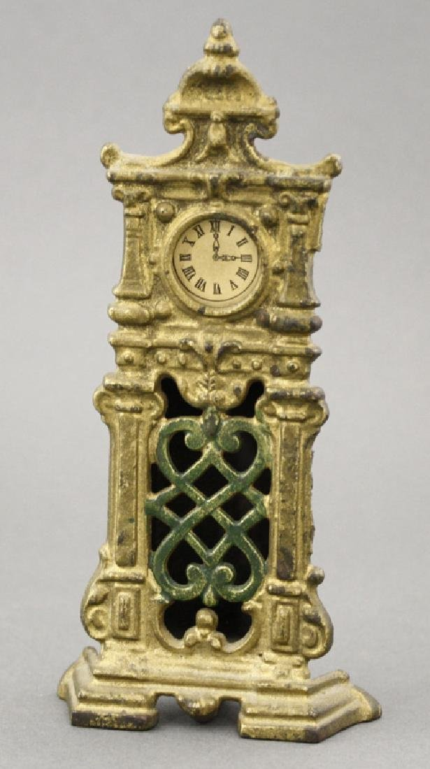 Ornate Hall Clock with Paper Dial